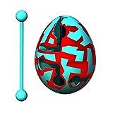 Smart Egg Zigzag - 3D Puzle de Laberinto y Juguete Educativo para Niños, Nivel 17 en Una Increíble Serie Rompecabezas - Desafío y Diversión en La Solución del Laberinto Dentro del Huevo