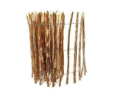 BooGardi Kastanienzaun · Staketenzaun Haselnuss 28 Größen · Rollzaun aus Haselnussholz · Art: englischer Kastanienzaun von BooGardi bei Gartenmöbel von Du und Dein Garten