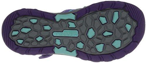 Merrell Hydro Hiker, Sandales de Randonnée Fille Purple/Blue