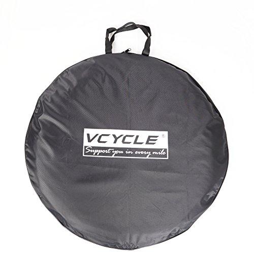 VCYCLE 700C Rennrad Radfahren Mountainbike Weiche Wasserdichte Rad Tragetasche Schwarz