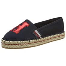 Tommy Hilfiger TH Patch Espadrille, Espadrillas Donna, Blu (Midnight 403), 39 EU