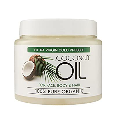 Coconut Oil For Skin and Body, Reduces the Signs of Ageing and Appearance of Wrinkles/Dark Circles, Moisturiser for all Skin Types, 500 Millilitre from Second Glance Beauty