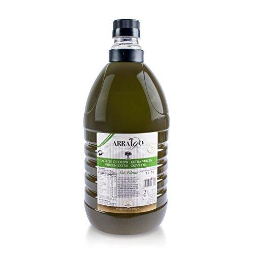 Arraigo sin filtrar - Aceite de Oliva Virgen Extra Premium - garrafa de 2 litros