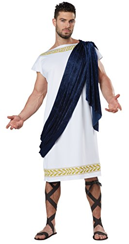 Griechenland Kostüm Geschichte - California Costumes 01593 - Grecian Toga Mens Ancient Greece Roman History Adult Fancy Dress Costume