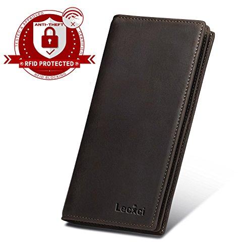 Diva Clutch Wallet (lecxci Geldklammer braun braun M)