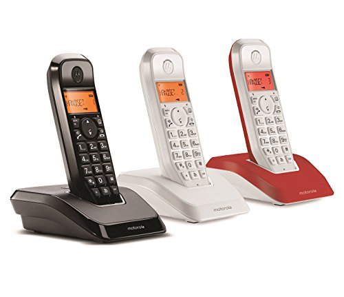 Motorola S 1203 TRIO Cordless Phone ( DECT,Hands Free Functionality, Low Radiation )
