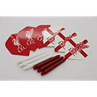 Dart Flights und Dart Shafts in Standardform, Design: Liverpool F.C.