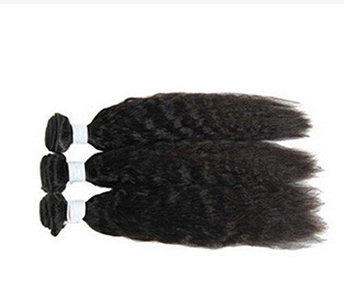 AN-LKYIQI Sciolto onda rimbalzante Curl 100% capelli umani non trattati