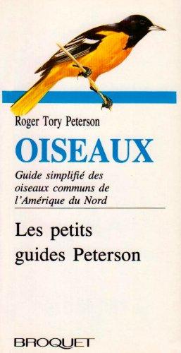 Oiseaux de l'Amérique du Nord par Roger Tory Peterson