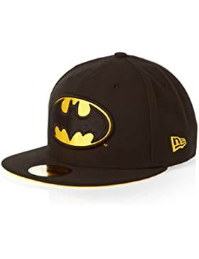 New Era 59FIFTY - Gorra, diseño de Batman, color negro - 7 1/2