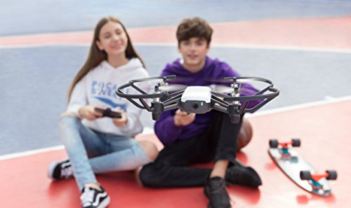 Ryze DJI - Drone Tello compatibilité casques VR et contrôleur - 720p - Transmission HD et 100m distance de vol - 2 antennes - Blanc