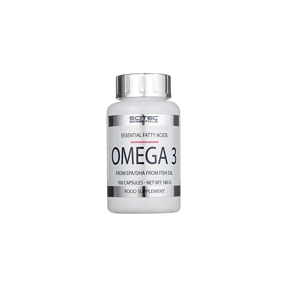 Scitec Nutrition Omega 3 100 Kapseln 1er Pack 1 X 140 G Dose