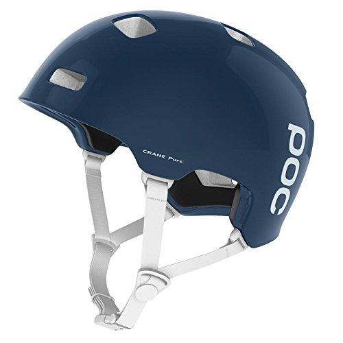 POC Crane Pure Unisex Helm, Lead Blue/Hydrogen White, XS-S (51 - 54 cm)