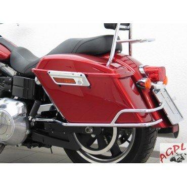 Preisvergleich Produktbild Harley Davidson Dyna Switchback fld-12 / 15 Set Protektoren Koffer laterales -6109 Ku