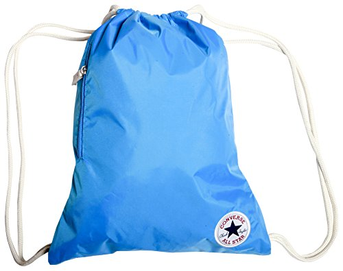 Converse Erwachsene Rucksack Core Poly Cinch Gymsack Spray Pint Blue, 30 x 45.5 x 1 cm, 10 Liter