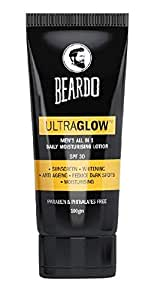 BEARDO Ultraglow Face Lotion For Men, 100g