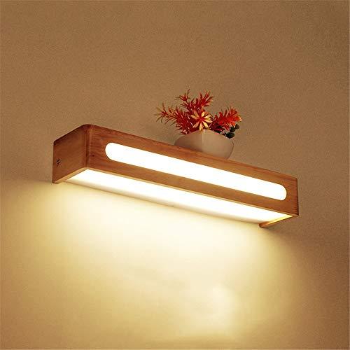 13w Mini Twist (HttKse Einfache Nordic Treppe Gang Massivholz Wandleuchte Schlafzimmer Nachttischlampe LED Badezimmerspiegel Scheinwerfer Holz Lampe Wandleuchte Wandleuchte - Einfach zu bedienen und installieren)
