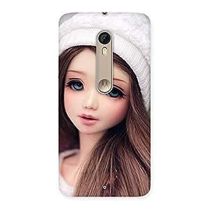 Innocent Angel Doll Back Case Cover for Motorola Moto X Style