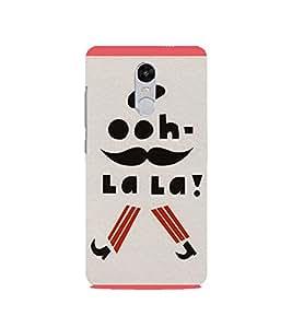 Ooh La la 3D Hard Polycarbonate Designer Back Case Cover for Redmi Note 4 :: Xiaomi Note 4