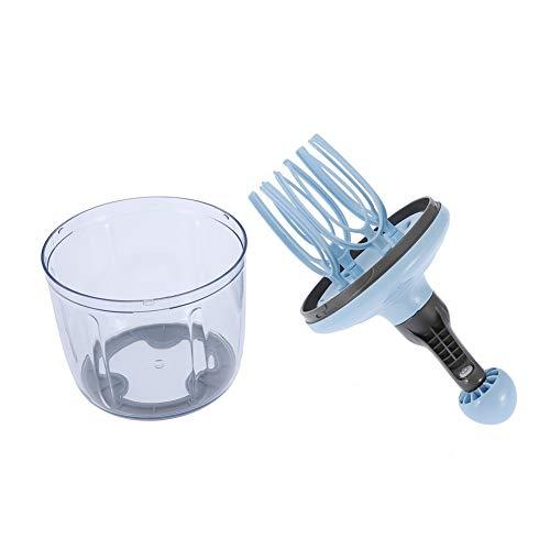 Ei-Schneebesen, multifunktional, Handheld-Eier-Mixer, abnehmbarer ergonomischer Griff, Mischbehälter mit rutschfester Unterseite, für Zuhause, Küche, Restaurant, Bäckerei, 1100 ml