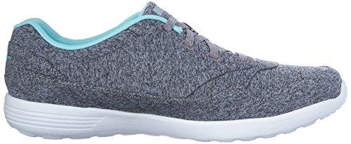 Skechers Stardust Crossing Womens Sneakers Gray/Aqua