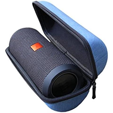 Malloom Cremallera portátil viaje caja dura protectora bolso funda para JBL Flip 3 Altavoz Bluetooth,