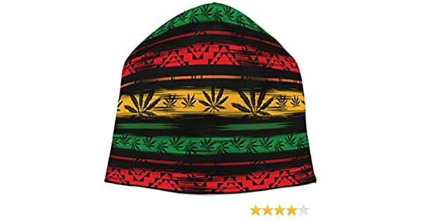 Berretto in canapa africana Black Out Rasta Rastafari