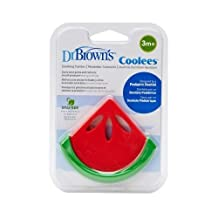 "Dr Brown'S Soothing Teether - Watermelon""Coolees"" -Te220-P2 Red/Green"