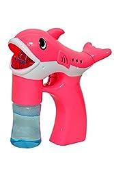 Sunshine Battery Operated Bubbles Gun (Pink)