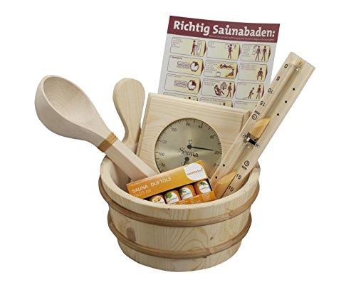 Base Sauna Zubehör-Box, 11-teilig