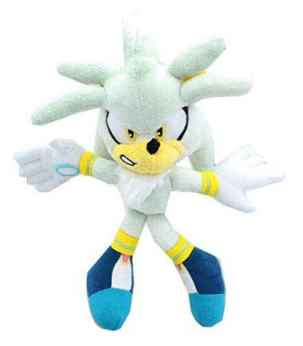 Sonic The Hedgehog 8-Inch Plush - Silver The Hedgehog