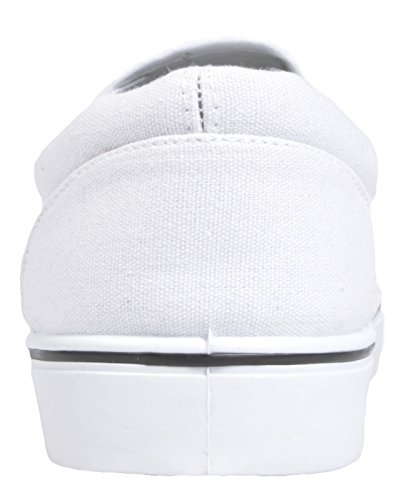 Branco Homens Deslizar Lora De Dora Tênis Sobre Basquete xCw7f0qpz
