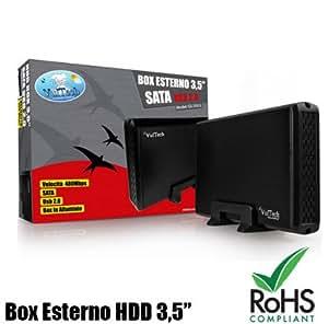 "GS-35U2 boîtier externe 3,5 ""HDD SATA de disque dur USB 2.0 ALUMINIUM SATIN PC GS-35U2"