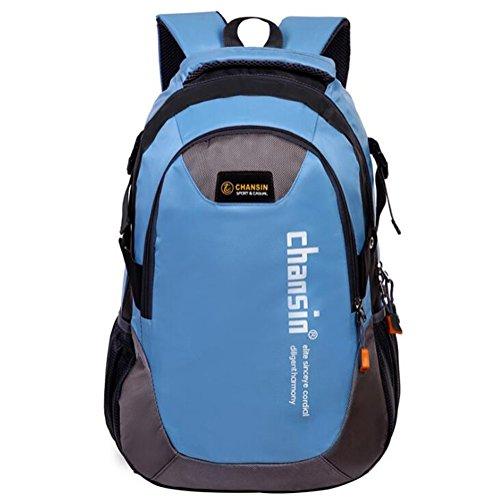 Wmshpeds Busta esterna giovane zaino impermeabile borsa di arrampicata borsa da viaggio studentessa in borsa E