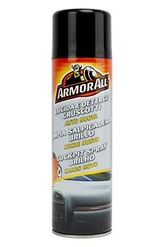 Armor All 83500SPI Limpia Salpicaderos Aroma New Car 500 ML Eficaz para plástico, Vinilo y Goma, Gris - Best Price