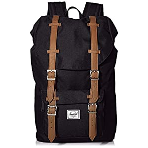 Herschel Little America Backpack 25 l 49.5 cm Black/neon camo