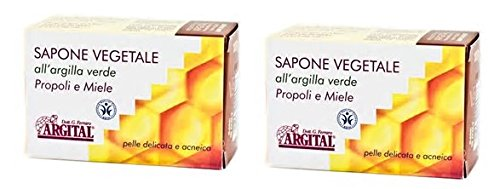 argital-vegetable-soap-with-green-clay-propolis-and-honey-2-packs-of-100-gr-cleaning-face-for-impure