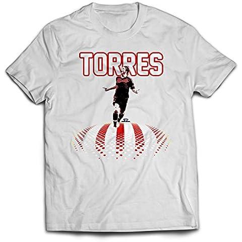 Atlético Madrid Torres infantil con forma de T-camiseta de manga corta