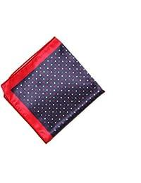 Classique Polka Dot Blue Color Pocket Square for Men