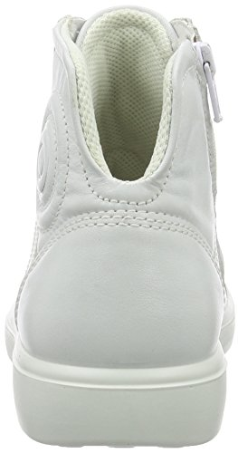 Ecco S7 TEEN Unisex-Kinder Hohe Sneakers Weiß (1007white)
