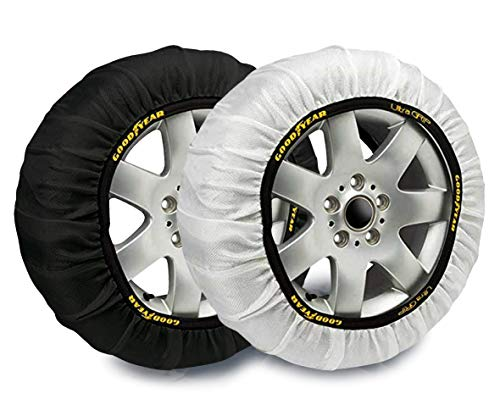 Goodyear god8012 catene da neve tessile ultra grip, l, set di 2