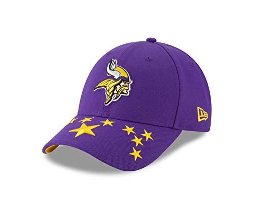 New Era Minnesota Vikings 9forty Adjustable Cap NFL Draft 2019 Purple - One-Size Lila New Era