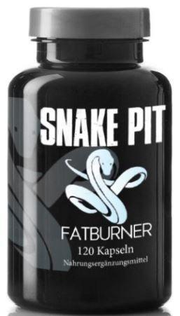 SNAKE PIT FATBURNER by Varg Power | 120 Fettverbrenner Kapseln Mega Hochdosiert | Für Die Definitionsphase und Diät | Beliebt bei Sportlern | schnell abnehmen ohne Hunger | Made in Germany