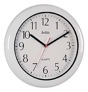 Acctim 93-701 Oceana Horloge murale Blanc Résiste à l'eau et la poussière (IP55)