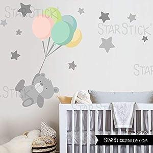 StarStick-Vinilo-beb-Tierno-osito-con-globos-T2-Mediano-160x100-cm