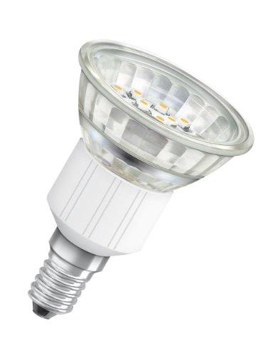 Osram LED Star R50 2 W, entspricht 20 W, Sockel E14, Reflektorlampenform, 50 mm, 25°, 300 cd, warmton (630) 974426