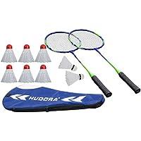 HUDORA Badmintonset Winner HD-33 + 6 Ersatzbälle