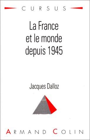 La France et le monde depuis 1945