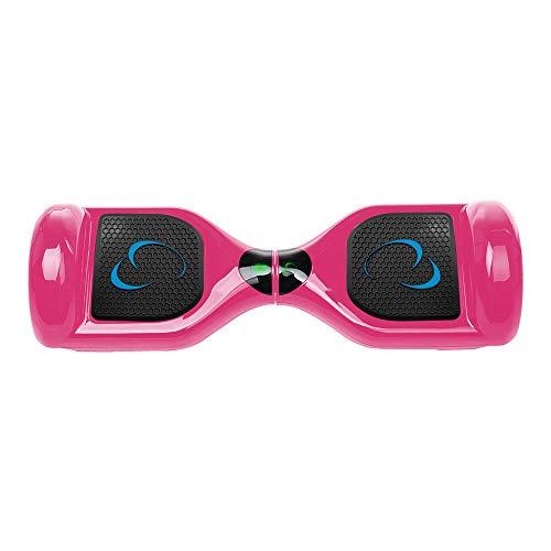 SmartGyro X1s Pink - Patinete Eléctrico Hoverboard, 6,5 antipinchazos, LEDS, Batería de...