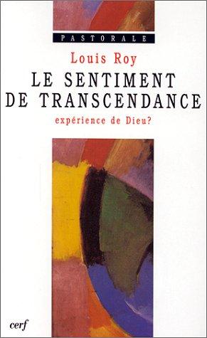 Le Sentiment de Transcendance par l. Roy
